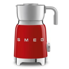 Smeg MFF01RDUK Red 50's Retro Style Milk Frother