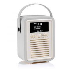 VQ Mini DAB Digital Radio In Light Grey