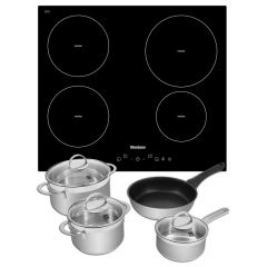 Blomberg MIN54307N With Free Induction Pan Set