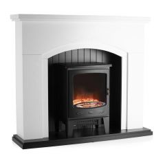 Warmlite WL45045 Newcastle 1.8kw Arch Front Fireplace Suite