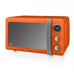 Swan SM22030ON Orange Retro Style Microwave