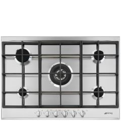 SMEG  P272XGH Cucina 72cm Stainless Steel Gas Hob