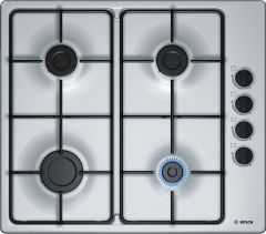 Bosch Serie 2 PBP6B5B80 Stainless Steel Gas Hob