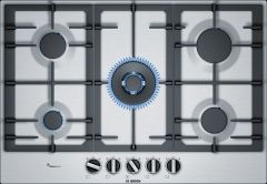 Bosch PCQ7A5B90 75cm Stainless Steel Gas Hob
