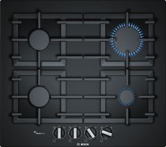 Bosch Serie 6 PPP6A6B90 59cm Black Gas Hob