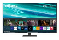 """Samsung QE65Q80AATXXU 65"""" QLED 4K HDR Smart TV 2021"""