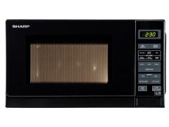 Sharp R272KM Black 800W Solo Microwave