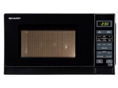 Sharp R272KM Black 800W Solo Microwave