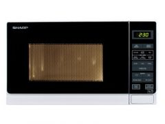 Sharp R272WM White 800W Compact Microwave