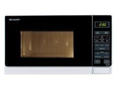 Sharp R272WM White 800W Compact Microwave