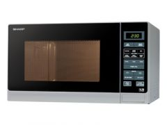 Sharp R372SLM Silver 900 Watt Microwave