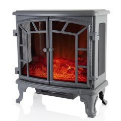 Warmlite Rochester WL 46020G Grey Fireplace Heater