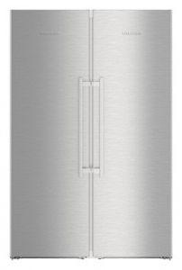 Liebherr SBSES8773 Stainless Steel Side By Side Fridge Freezer