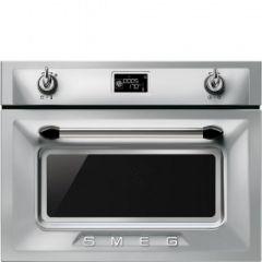 Smeg SF4920MCX1 Victoria Silver Compact Oven