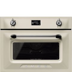 Smeg Victoria SF4920VCP1 Compact Combination Steam Oven