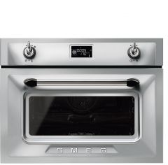 Smeg Victoria SF4920VCX1 Compact Combination Steam Oven