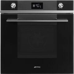 Smeg Linea SFP6102TVN Built-in Oven In Black