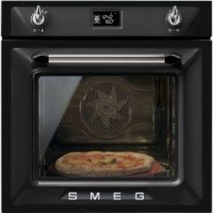 Smeg SFP6925NPZE1 Black Victoria Retro Single Oven