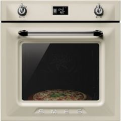 Smeg SFP6925PPZE1 Built-in Electric Single Oven, Cream
