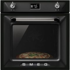 Smeg SF6922NPZE1 Black 60cm Single Oven