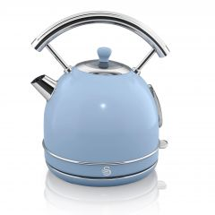 Swan SK14630BLN Blue Retro Style Dome Kettle