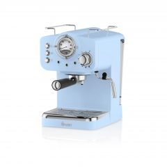 Swan SK22110BLN Blue Retro Espresso Coffee Machine