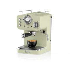 Swan SK22110GN Green Retro Espresso Coffee Machine