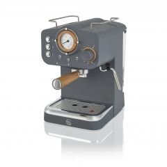 Swan SK22110GRYN Grey Nordic Espresso Coffee Machine