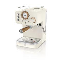 Swan SK22110WHTN White Nordic Espresso Coffee Machine