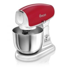Swan SP33010RN Red Retro Style Stand Mixer