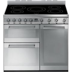 Smeg SY93I 90cm Electric Range Cooker With Induction Hob