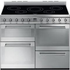 Smeg SYD4110I 110cm Stainless Steel Induction Range Cooker