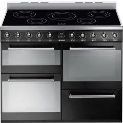Smeg SYD4110IBL 110cm Induction Range Cooker In Black