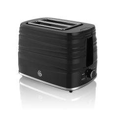 Swan Symphony ST31050BN Black Toaster