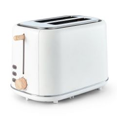 Tower Scandi T20027 White Toaster