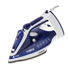 Tower Ceraglide T22008 Blue Cord Cordless Iron