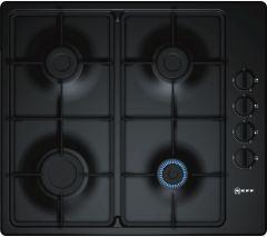 Neff N30 T26BR46S0 Black 4 Burner Gas Hob