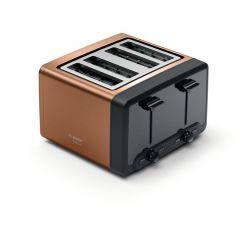 Bosch TAT4P449GB 4 Slot Toaster In Copper