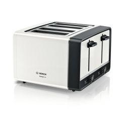 Bosch TAT5P441GB White 4 Slot Toaster