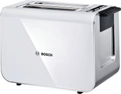 Bosch Styline TAT8611GB White Compact Toaster