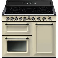 Smeg TR103IP Victoria 100cm Electric Range Cooker In Cream