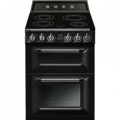 Smeg TR62IBL 60cm Victoria Range Cooker, Black