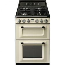 Smeg TR62P Victoria 60cm Dual Fuel Cooker In Cream