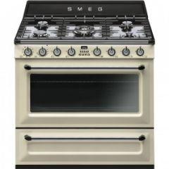 Smeg TR90P9 Victoria Dual Fuel Range In Cream