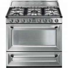 Smeg TR90X9 Stainless Steel 90cm Range Cooker
