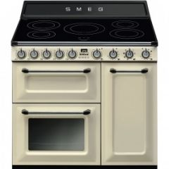 Smeg TR93IP 90cm Electric range Cooker, Cream