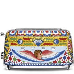 Smeg TSF02D&G Dolce & Gabbana 4 Slice Toaster
