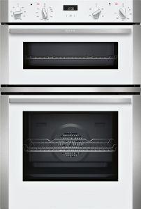 Neff U1ACE2HW0B Built-in Double Oven In White