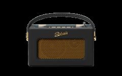 Roberts Revival Uno Portable DAB Radio, Black