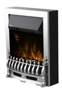 Warmlite WL45048 Whitby Chrome Electric Fire Inset